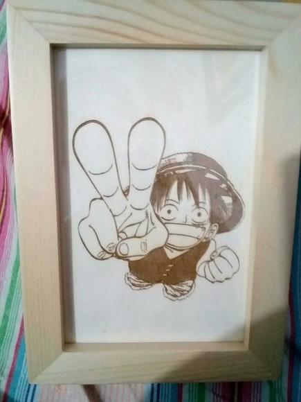 木板刻画图片