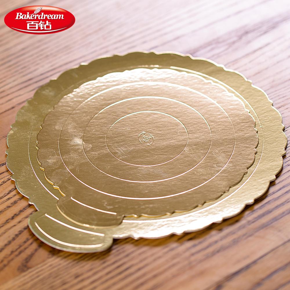 百钻蛋糕底垫6寸/8寸 生日蛋糕戚风蛋糕芝士蛋糕底托 带尺寸刻度 商品图0