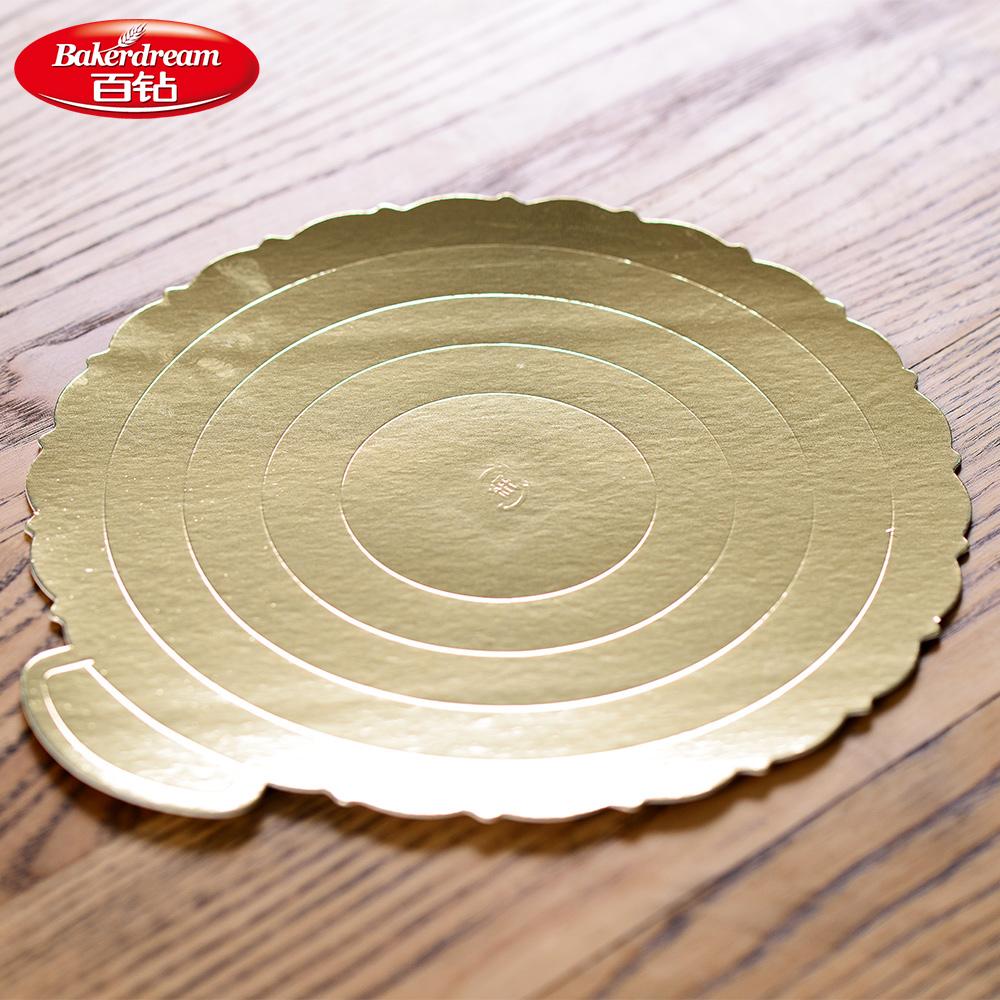 百钻蛋糕底垫6寸/8寸 生日蛋糕戚风蛋糕芝士蛋糕底托 带尺寸刻度 商品图1