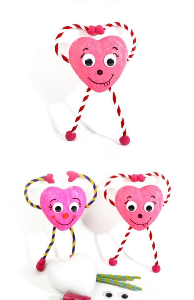 艺趣儿童手工制作 幼儿园手工材料包送妈妈创意礼物老师的小爱心