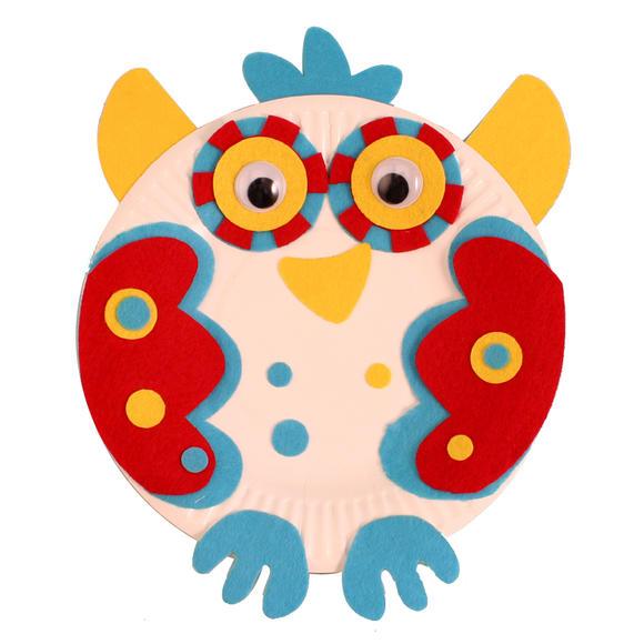 幼儿园手工自制纸盘动物材料包儿童diy制作创意礼物礼品猴子纸盘