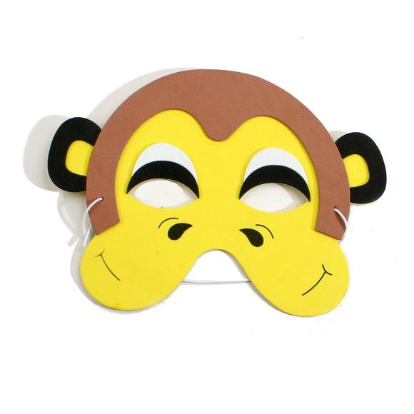幼儿万圣节礼物eva动物面具幼儿手工制作面具儿童diy