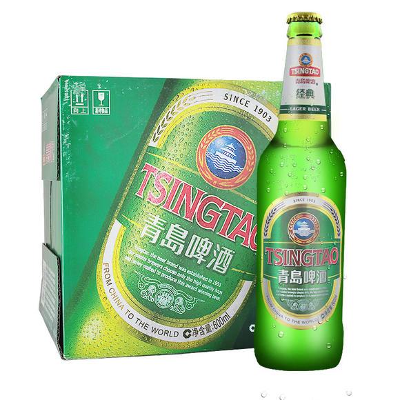 青岛啤酒经典8度500ml*12瓶