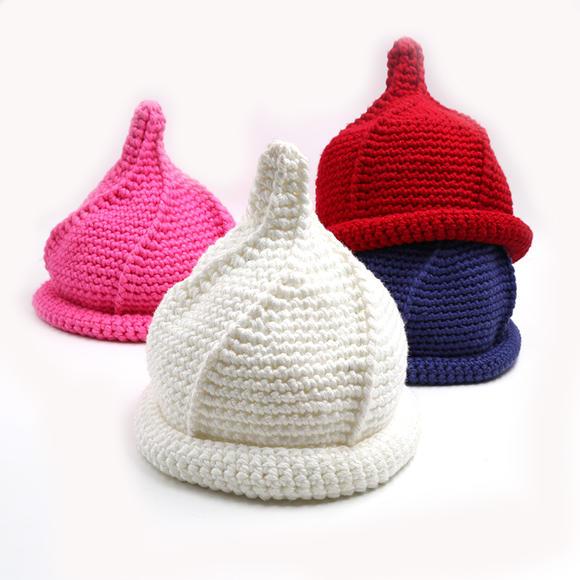 小辛娜娜旋转奶嘴帽编织材料包用线 宝宝帽子围巾线粗