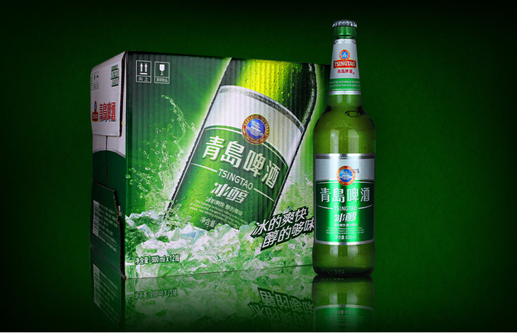 【众达电商●青岛冰醇】青岛啤酒500ml青岛原厂生产 青岛特产 量大优