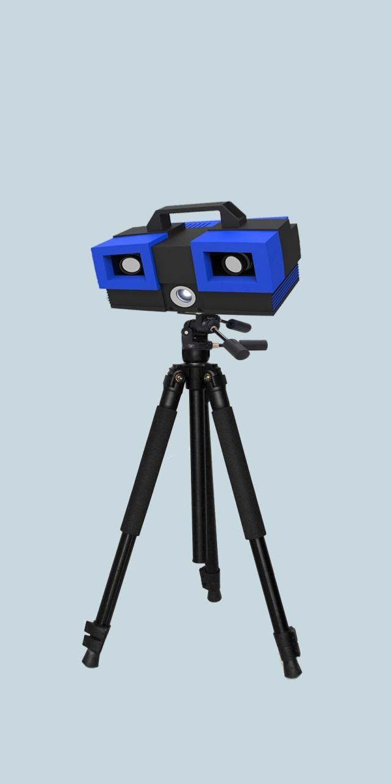 008-0.015mm. 5.扫描原理:结构光编码 相移结合,非接触式拍照扫描. 6.