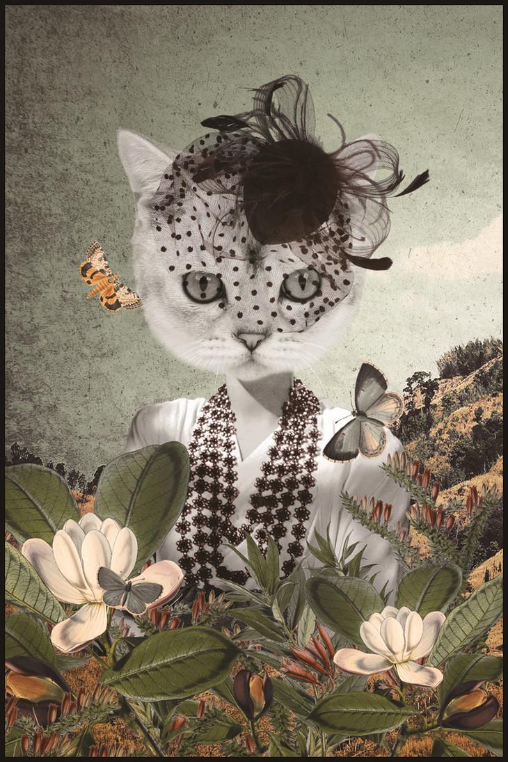 异见·艺术收藏级微喷装饰画 动物花园系列