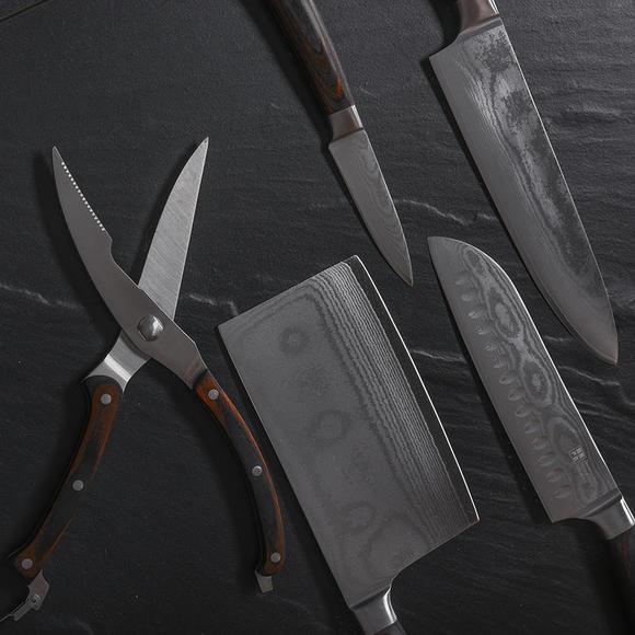 双立人制造商 大马士革套刀 尊贵典雅 67层日本钢