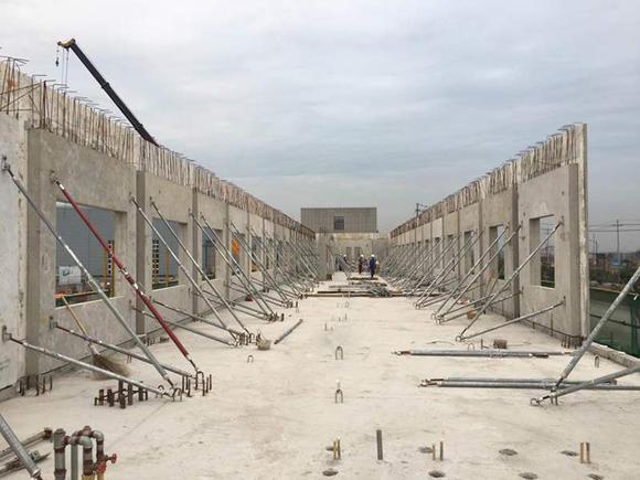 新型预制装配式pc结构可调节斜支撑钢支撑斜撑拉杆撑杆调节支撑杆