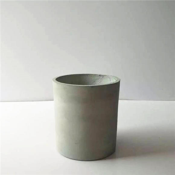 镁水泥正圆柱体水泥花盆(大)