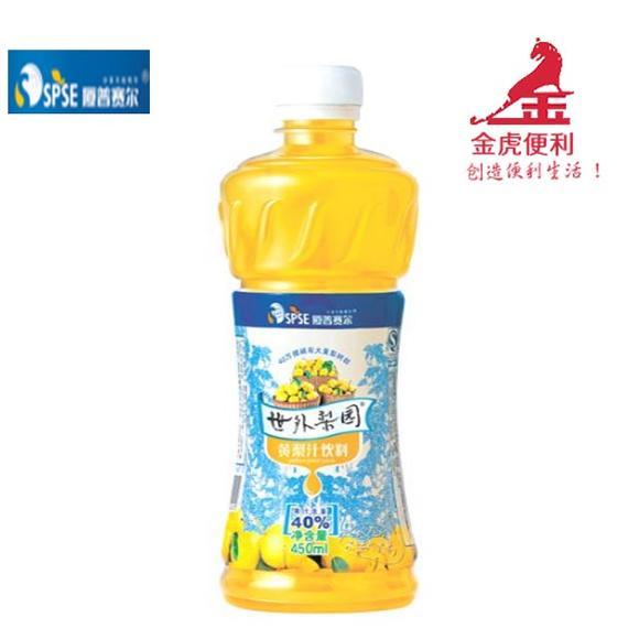 世外冬装黄梨汁饮料450ML乔帛梨园图片