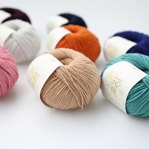 【花线.意棉】编织人生进口线材手工编织毛线春夏棉线宝宝线棒针 商品图2