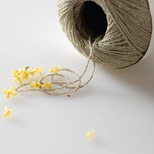 【花线.意大利结】编织人生进口线材棉亚麻手工编织毛线春夏新品 商品图3