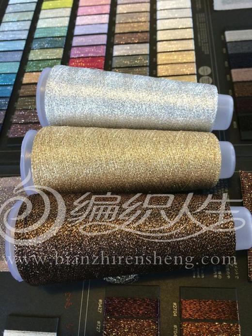 云金 手工编织配线 进口金银丝毛线 细线柔软不扎人可贴身 商品图0
