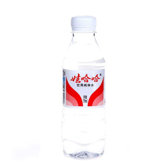 娃哈哈饮用纯净水350ml 水质纯净图片