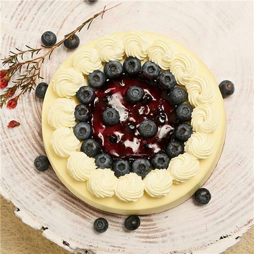 蓝莓优格 blueberry cheese图片