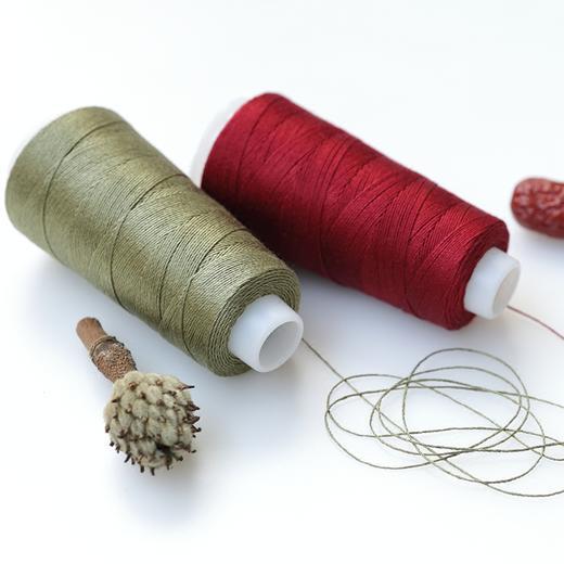 【编织人生云帛真丝】100%Silk桑蚕丝蕾丝线 50克/团 手工编织钩针毛线细线 商品图2