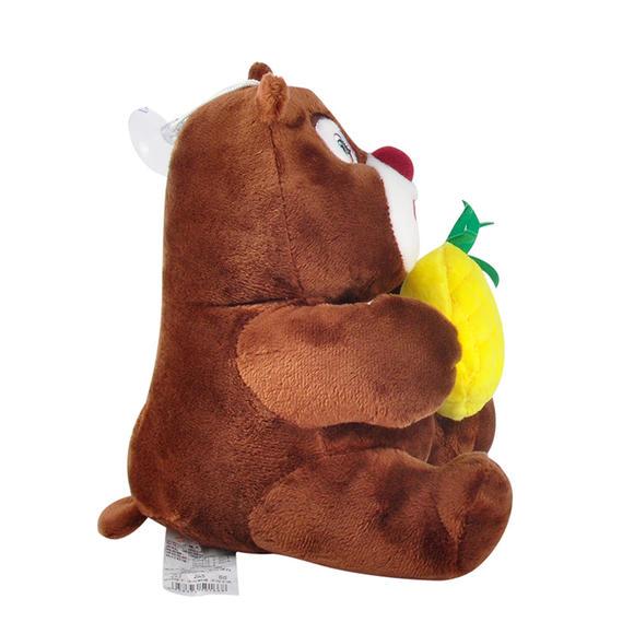 多多堡 熊熊乐园毛绒玩具 小熊大小熊二坐姿吸盘公仔