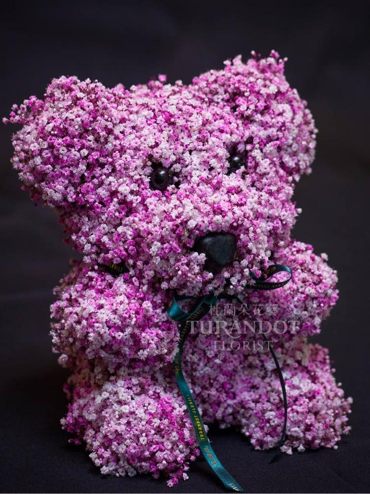 杜兰朵【七夕限定花束】进口粉色满天星 鲜花花束 节日祝福 表白致爱