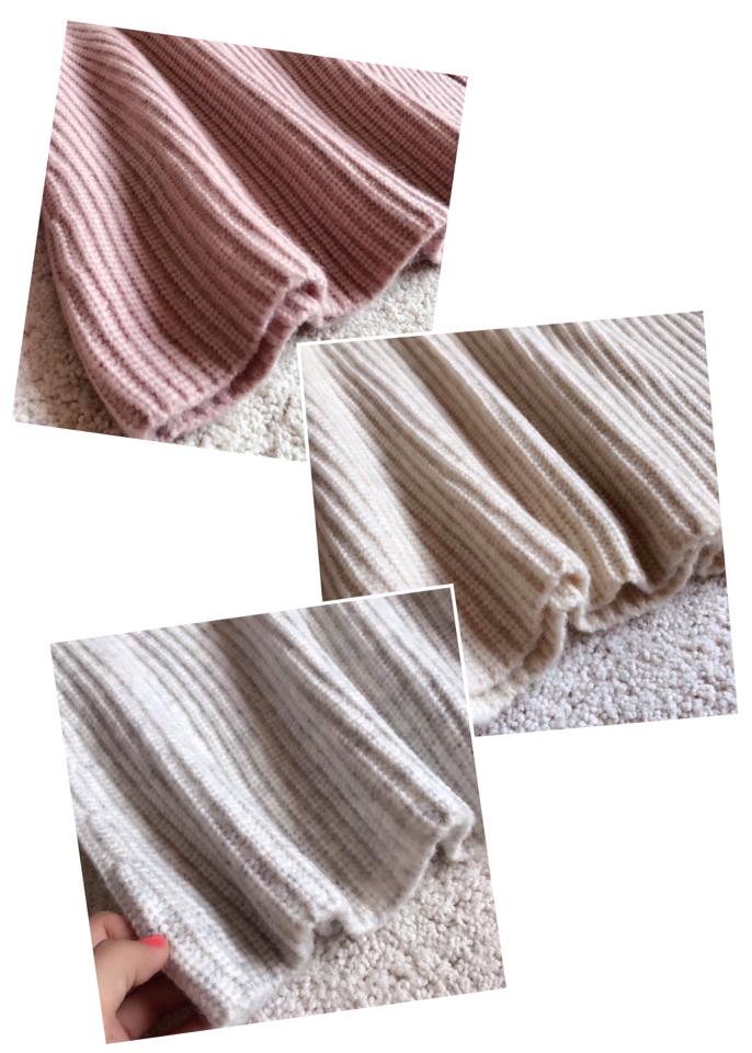 双面平针围巾织法