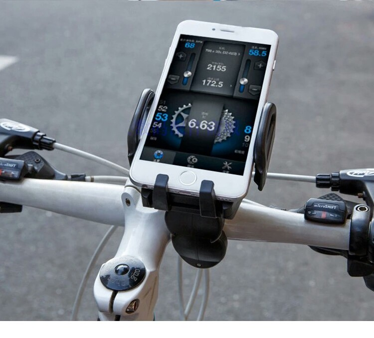 创意自行车电动车手机支架 咨询