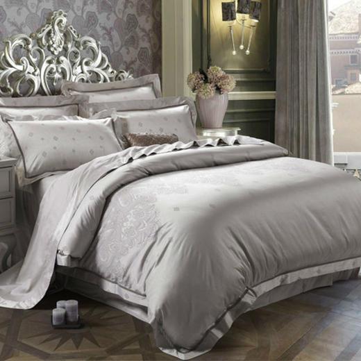 竹纤维提花印花贡缎床单四件套 商品图2