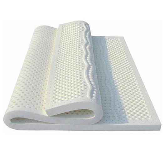 泰国天然乳胶床垫 七分区按摩垫 平面乳胶垫 5CM 商品图0