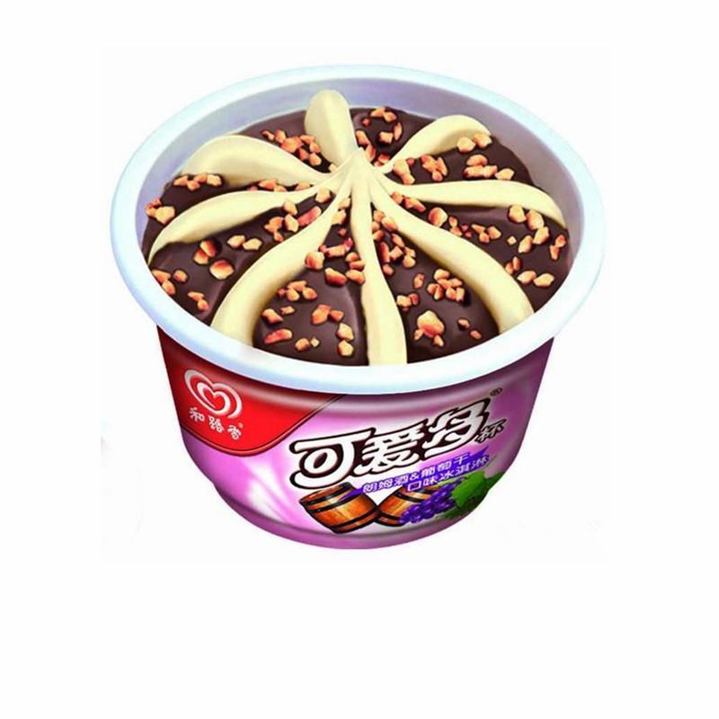 【和生活】可爱多杯 朗姆酒&葡萄干口味冰淇淋