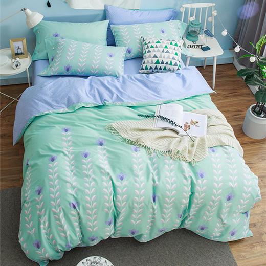 纯棉床单四件套-玛意莲 商品图0
