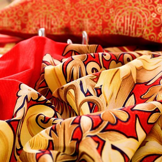 纯棉婚庆磨毛床单四件套-童话 商品图3