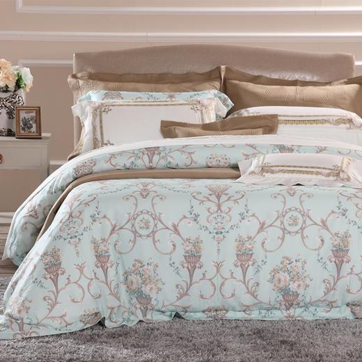 长绒棉床单四件套-圣安娜 商品图0