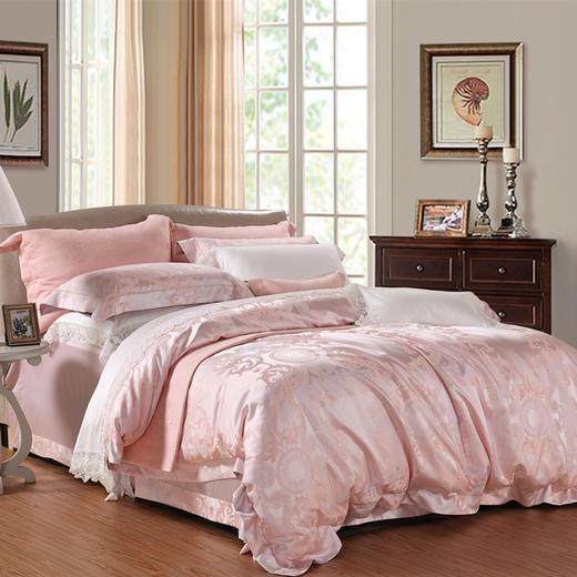 提花床单四件套-特蕾西 商品图0