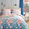 天丝磨毛床单四件套-梦紫花漾 商品缩略图0