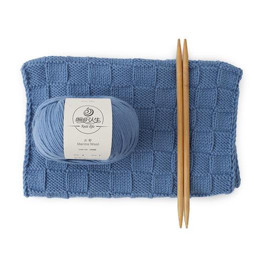 【云舒】羊毛围巾线 一团100克 围巾4团 围脖3团 粗毛线 有编织视频 适合新手 商品图4