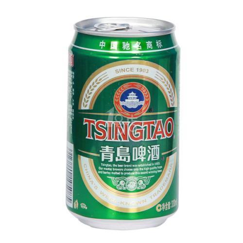 青岛啤酒经典罐装330ml*24/箱