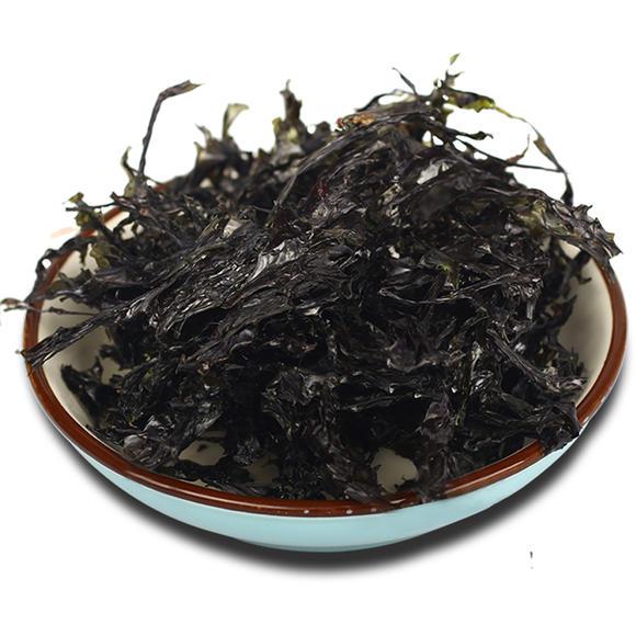 饶平海山岛紫菜 纯天然手工晾晒 头水紫菜无沙