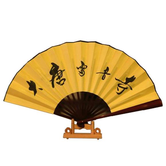 大唐雷音寺定制版绢扇(纯手工制作扇子)