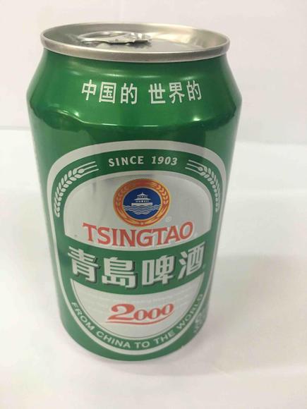 青岛2000啤酒罐装330ml