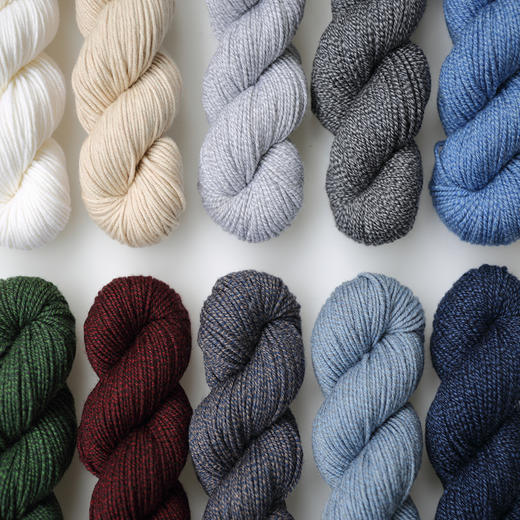 【云暖】100%美丽诺羊毛粗毛线 100克/绞 手编棒针线毛衣线围巾线 编织人生 商品图1