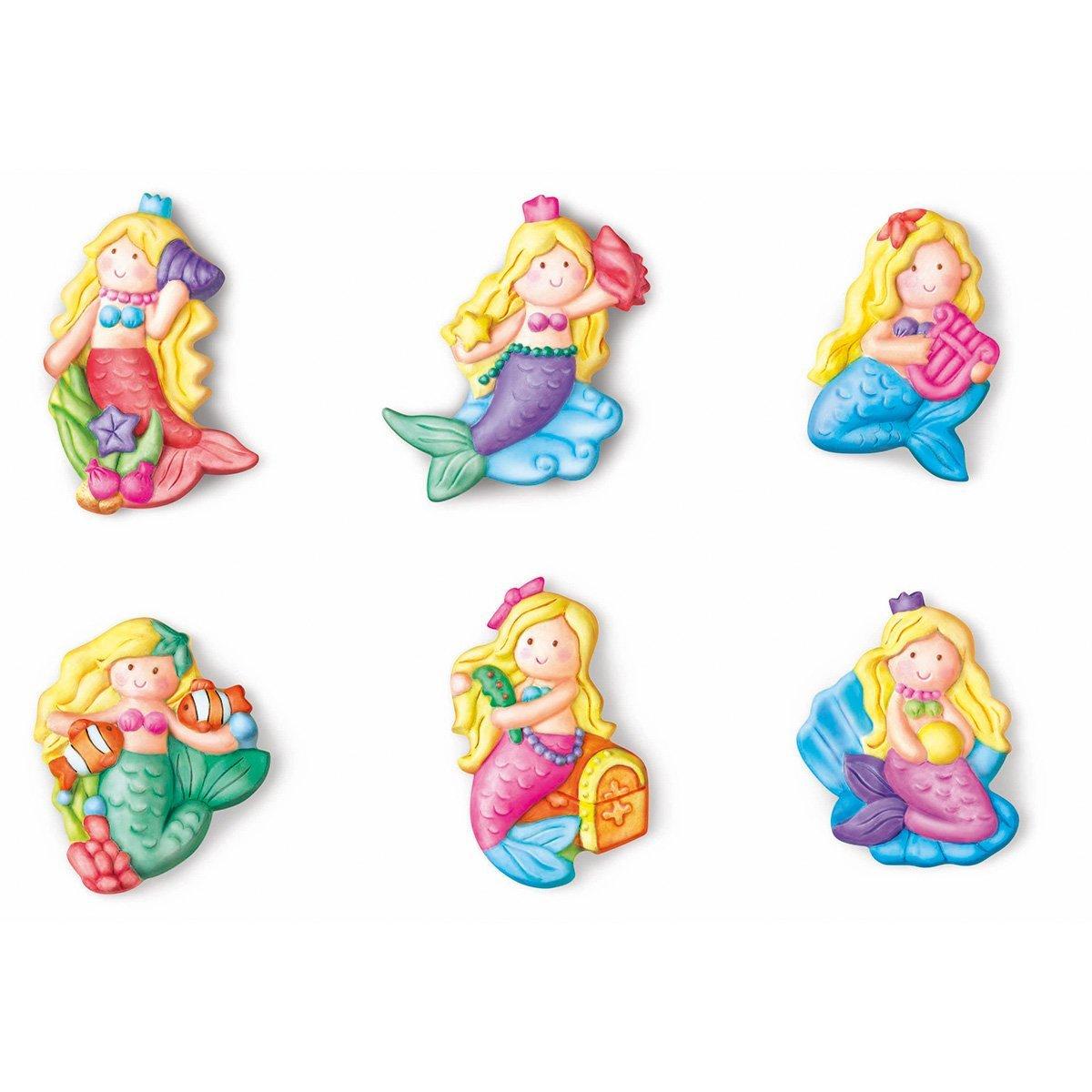 4m 石膏彩模系列 闪闪美人鱼 创意美术手工diy玩具图片