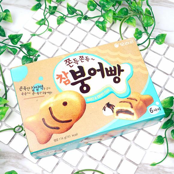 韩国进口 好丽友打糕鱼夹心蛋糕 休闲下午茶糕点甜点