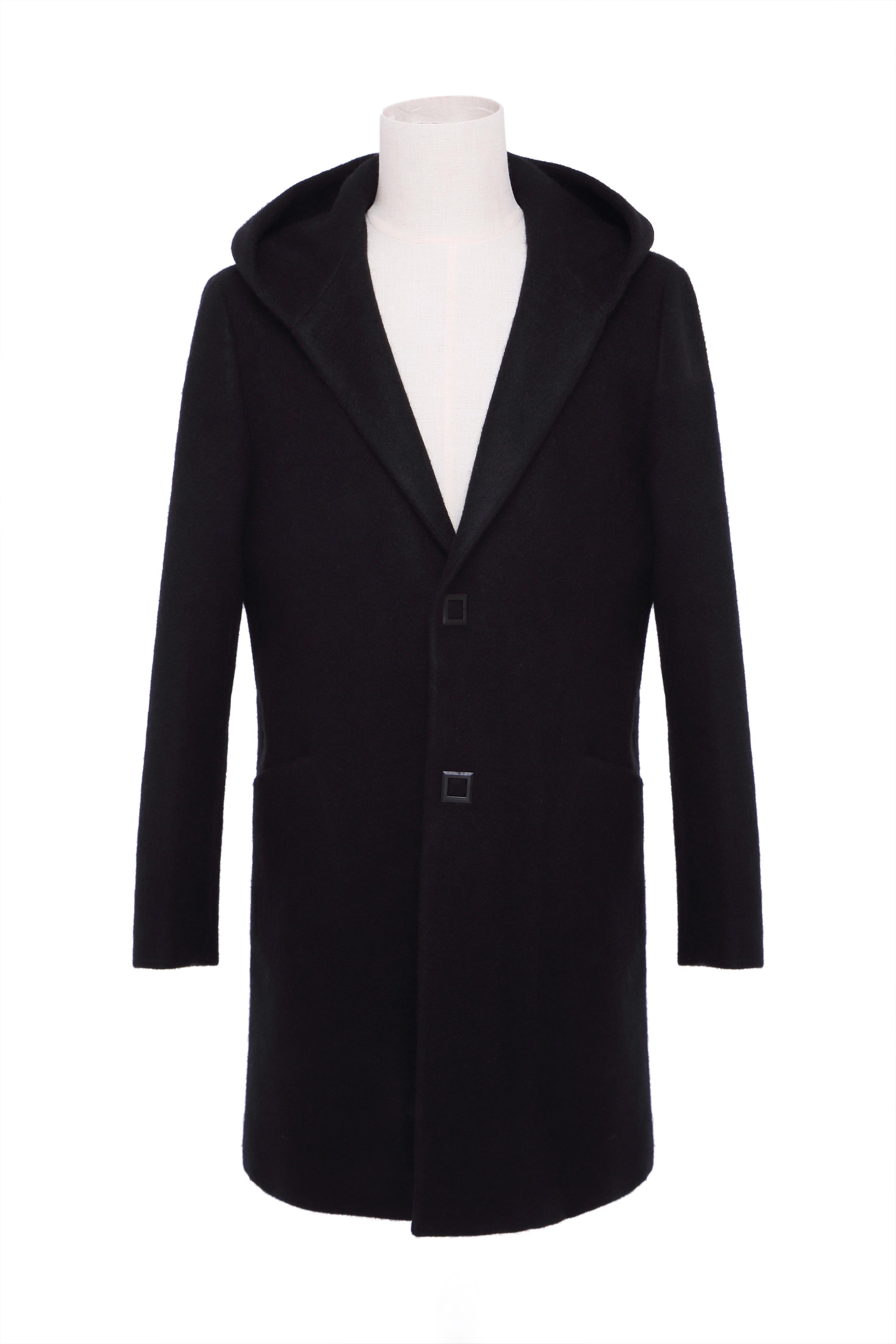 男士羊毛大衣 加厚款d0027