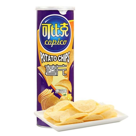 达利可比克薯片原味105g/罐图片