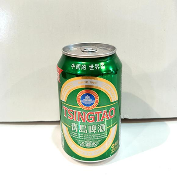 青岛啤酒330ml灌装醇厚