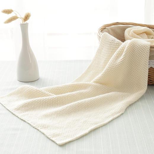 编织人生真丝羊毛围巾diy毛线材料包 棒针中粗毛线含视频教程 商品图2