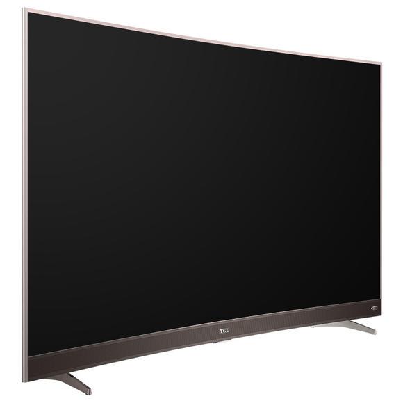55p3f 55英寸 曲面30核智能液晶电视 超窄纤薄金属边框(玫瑰金)