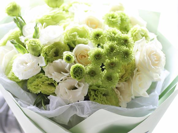 「名花有主」韩式小清新花束