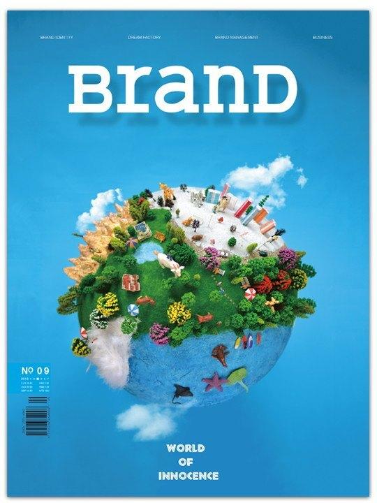 brand国际品牌设计杂志no.9【worldofinnocence】cad设计机械什么考图片