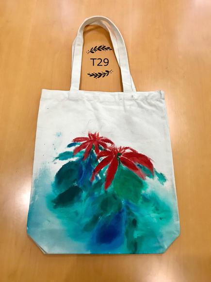 手绘环保袋t29