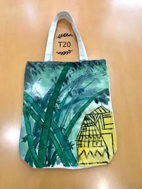 手绘环保袋t20